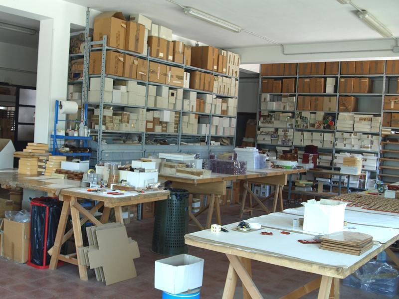 Laboratorio montaggio e decorazione